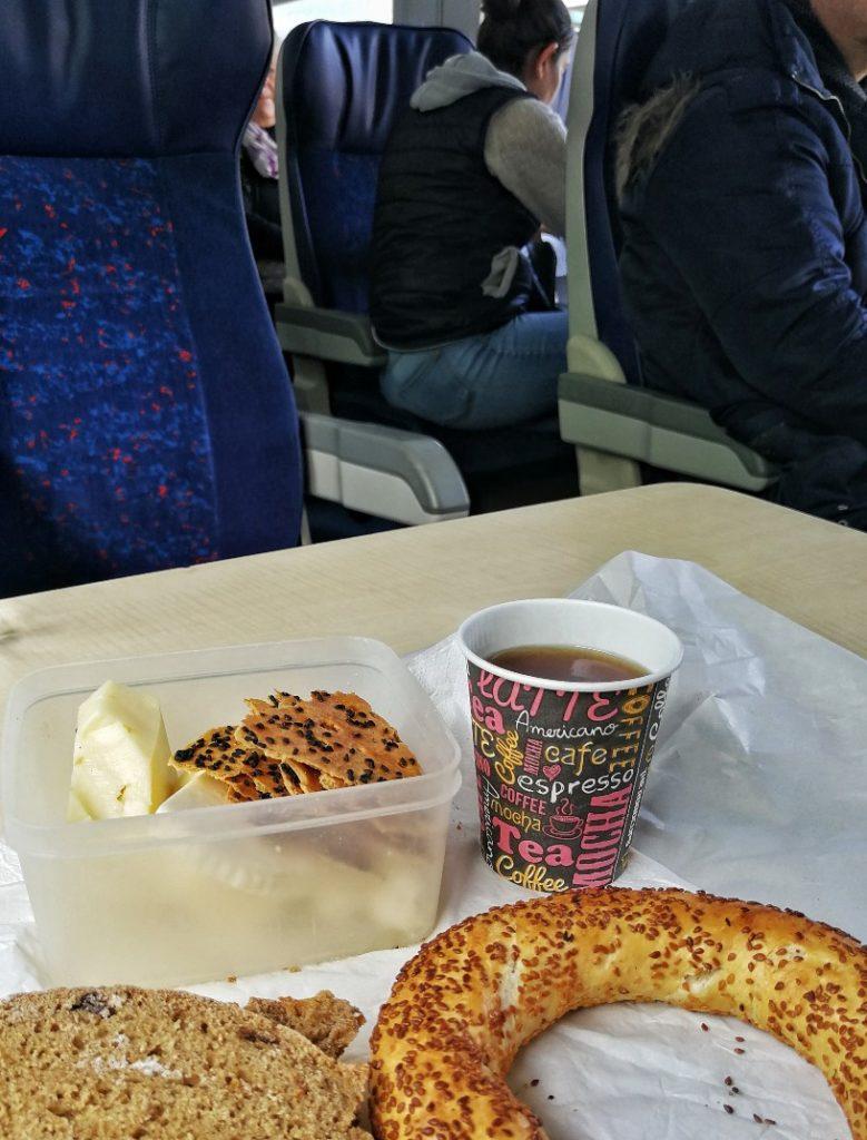 tren kahvaltısı
